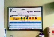 Emergency Room Marker Board