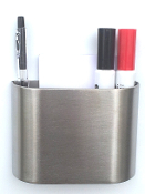 Large Stainless Marker and Note Holding Cup